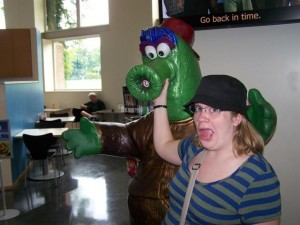 Me and the Philly Phanatic