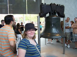 Me and the Liberty Bell