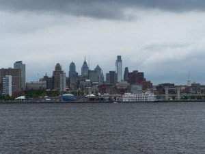 Philly from the river